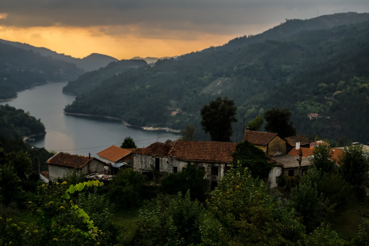 Beautiful Douro valley Portugal